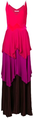 Givenchy Layered-Pleats Dress