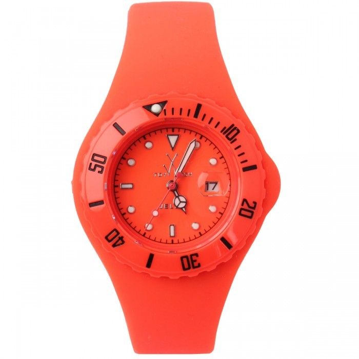 Toy Watch Small jelly orange watch