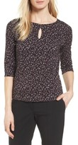 BOSS Women's Epinala Print Jersey Top