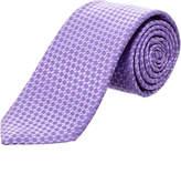 Canali Purple Silk Tie