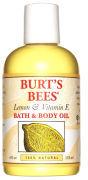 Burt's Bees Lemon & Vitamin E Bath & Body Oil (4 fl oz / 115ml)