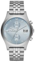 Marc by Marc Jacobs Slim Chrono Stainless Steel Chronograph Bracelet Watch/Blue