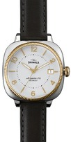 Shinola Women's Gomelsky 3HD 36mm Leather Watch