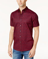 Michael Kors Men's Rose Print Shirt
