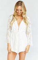 MUMU Roxy Romper ~ Lady in Lace
