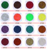 16pcs Nail Art 3D Decals Gel Polish Make Up Body Beauty Glitter Shimmer Holo Powder Manicure Salon Tips DIY FairyGlo