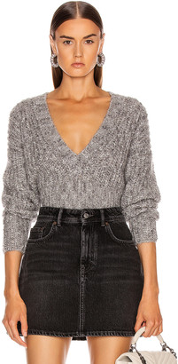 IRO Kyle Sweater in Mixed Grey | FWRD