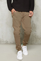 Forever 21 Tiered-Stitch Joggers
