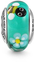 Soufeel Murano Glass Bead 925 Sterling Silver Christmas