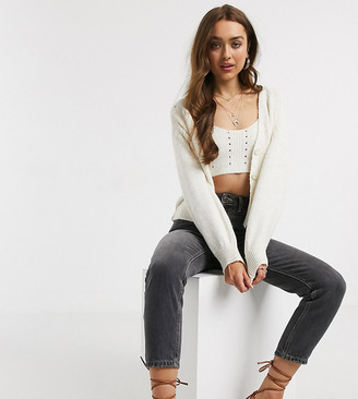 ASOS DESIGN Petite co-ord chunky knitted bralet