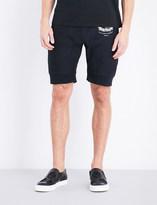 Alexander McQueen Logo-print jersey shorts