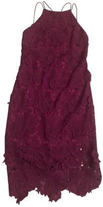 Non Signã© / Unsigned Purple Cotton - elasthane Dresses
