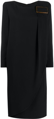 Giorgio Armani Layered Midi Dress