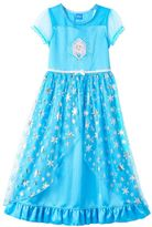 Disney Disney's Frozen Elsa Girls 4-10 Fantasy Nightgown