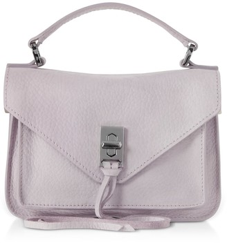 Rebecca Minkoff Nubuck Leather Mini Darren Messenger Bag