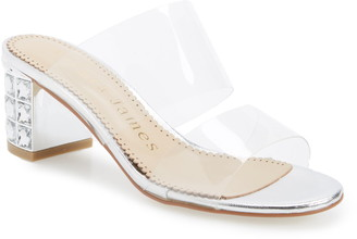 clear Allegra James Anne Slide Sandal