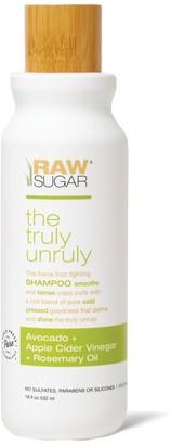 Raw Sugar Living Truly Unruly Shampoo - Avocado + Apple Cider Vinegar + Rosemary Oil