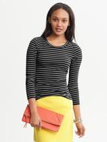 Banana Republic Striped Long-Sleeve Bella Dream Tee