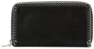 Stella McCartney Falabella Zip Around Continental Wallet
