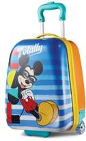 """American Tourister Disney Mickey Mouse 18"""" Hardside Rolling Suitcase By"""