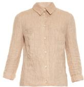 Altuzarra Adams open-back linen shirt