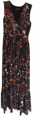 Mulberry Multicolour Silk Dresses