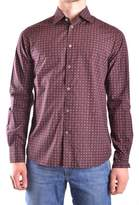 Peuterey Men's Multicolor Cotton Shirt.