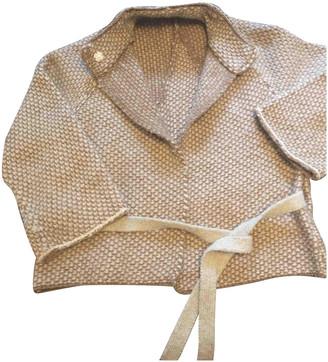 Stefanel Beige Wool Knitwear