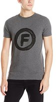 French Connection Men's Circle F Short Sleeve T-Shirt