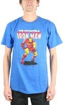 Impact Iron Man Tony Stark Superhero Marvel Comics Invincible Adult T-Shirt Tee