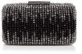 Sondra Roberts Glass Bead Box Clutch