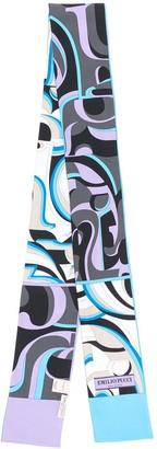 Emilio Pucci x Koche printed silk scarf