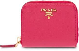 Prada Saffiano Leather Coin Purse