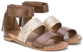 UGG open toe sandals - kids - Leather - 30