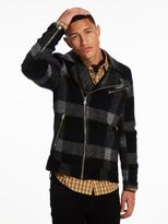 Scotch & Soda Wool Biker Jacket