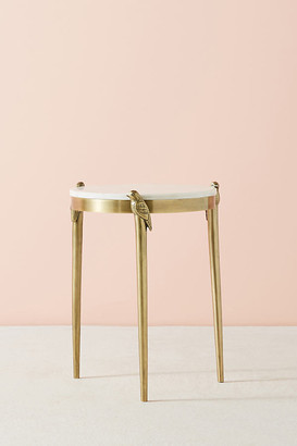 Anthropologie Perched Side Table By in Brown Size ALL