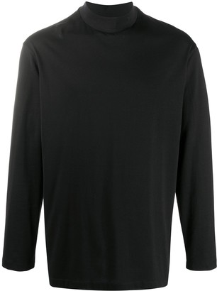 Y-3 funnel neck T-shirt