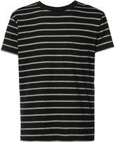 Saint Laurent striped T-shirt - men - Cotton - XS