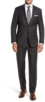 Hart Schaffner Marx Men's Classic Fit Check Wool Suit