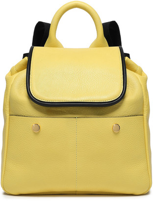 Marni Studded Two-tone Pebble-leather Backpack
