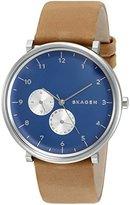 Skagen Men's SKW6167 Hald Light Brown Leather Watch