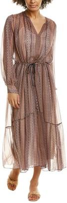 Forte Forte Mozaik Silk Blouson Dress