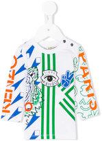 Kenzo multi-icon print top - kids - Cotton - 9 mth