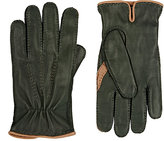 Barneys New York MEN'S DEERSKIN GLOVES