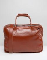 Royal RepubliQ Nano Big Zip Leather Laptop Bag