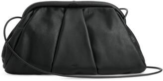 Arket Soft Leather Clutch Bag