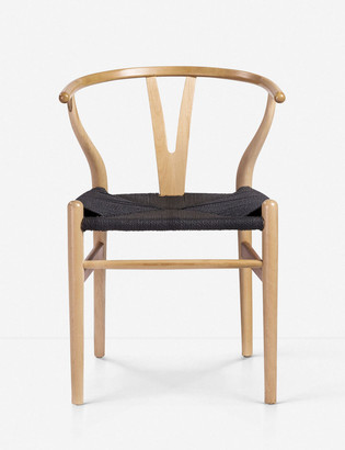 Lulu & Georgia Signe Dining Chair, Natural (Set of 2)
