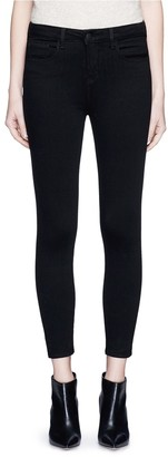 L'Agence 'the Margot' Cropped Skinny Pants