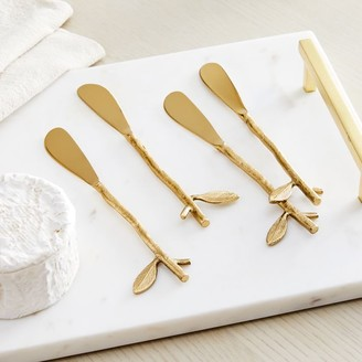 west elm Botanical Cheese Spreaders (Set of 4)