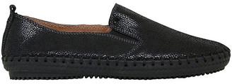 Just Bee Coble Black Shimmer Sneaker